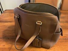 Furla Tan Leather Handbag With Dustbag - Immaculate