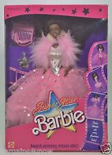 1988 SUPER STAR BARBIE AFRICAN AMERICAN AA NIB