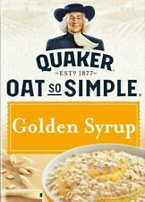 Quaker Oats So Simple Golden Syrup Porridge 14 Sachets - 36g Individual Packets