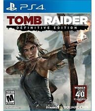 Sony PlayStation 4 Ps4 Game Tomb Raider Definitive Edition Square Enix