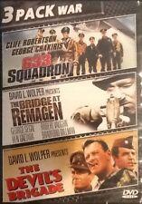 633 Squadron/The Bridge at Remagen/The Devil's Brigade DVD NEW FREE SHIPPING