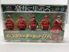 Power Rangers Gokaiger Key Set 01 Bandai 2011 Anime Manga action figure