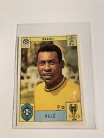 Pele Panini Sticker Card World Cup Mexico 1970 70 VERSION RARE Like Ronaldo Psa