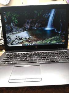 """HP ZBook 15 G3 15.6"""" Laptop Intel i7-6600HQ 16GB RAM 256GB SSD HD530 Graphics"""