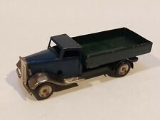 Tri-Ang Minic, Flatbed Truck, England, No Key, Works , Good Condition!!