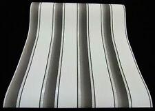 9706-15-2) Vinyltapete schicke Streifen-Design Tapete weiß grau mit Glanz