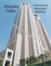 Japan - Tokyo - SHINJUKU - govt municipal bldg -  FLEXIBLE fridge magnet
