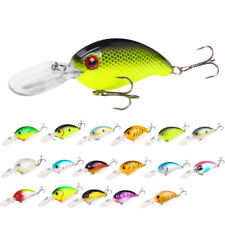 10CM Fishing Wobblers Bass Spinner Bait Artificial Fishing Lures Fishing Tackle
