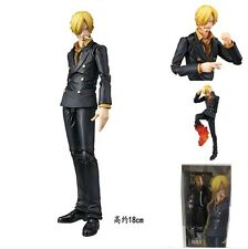 "ONE PIECE/SANJI VARIABLE 18 CM- ANIME FIGURE ACTION HEROES 7"" BOX"