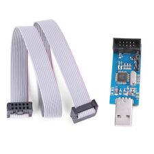 USBISP USBASP AVR Programmer Adapter 10 Pin Cable USB ATMEGA8 ATMEGA128 Arduino