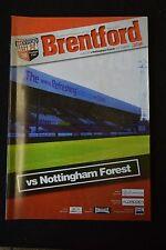 Brentford FC Vs Nottingham Forest 14-04-07  Program (P161)