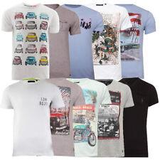 Mens Brave Soul T-Shirts Photo Print Graphic Or Plain Cotton Tee