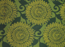 Green Gold Yellow INCASE Crypton Upholstery Fabric 0427-670 Flower Leaf Vine