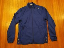Reebok Zip Up Blue Track Jacket Men's Size L