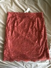 Women's Simply Styled Lace Pencil Skirt size Missy XL/ Faded Rose