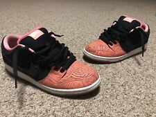 Nike SB Dunk Low Premium Salmon Fish Ladder Atomic Pink 313170-603 Size 11 Used