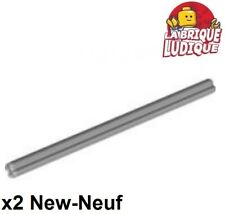 Lego Technic- 2x Axe Axle 9 gris/light bluish gray 60485 NEUF