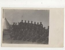 British Soldiers Military Group Tropical Helmets WW1 Vintage RP Postcard 394b
