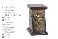Dogue de Bordeaux, dog urn made of cold cast bronze, ArtDog, Ca - kind3