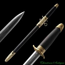 Navy Short sword Dagger Pattern Steel Blade Polishing Sharp Battle ready #1821