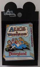 Disney DLR Alice in Wonderland Storybook (3D) Pin