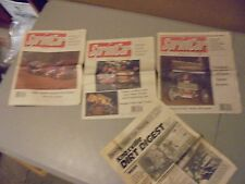 LOT OF 3 1990/91 SPRINT CAR NEWSPAPERS,ALL VOL.1 KINSER, WOLF GANG,KNOXVILLE,OHI