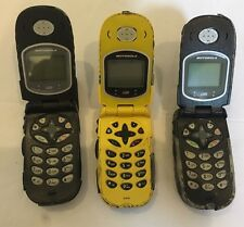 """Lot of 3 Motorola i530 Cell phone """"Just for parts"""""""