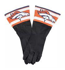 NFL Denver Brancos Rubber Dish /Garden Long Gloves