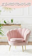 Light Luxury Single Sofa Northern Europe Modern Simple
