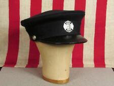 Vintage Biltmore Firefighters Wool Hat Visor Cap Catasauqua,PA Fire Dept.Badge 7