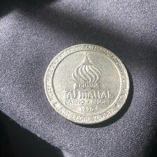 Vintage $1 Trump Taj Mahal Atlantic City Casino Resort 1990 Game Coin