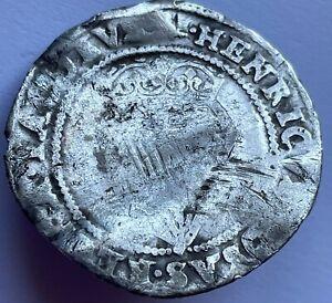 1604-5 James I (1st) Silver Hammered Irish shilling 2nd coinage, mm Martlet