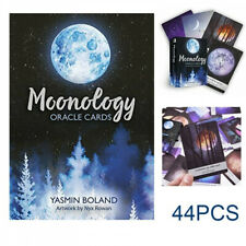 Tarot Cards Moonology Oracle Cards: A 44-Card Deck English Gift Entertainment US
