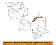 TOYOTA OEM Battery-Hold Down Tie Bracket Clamp 7440406020