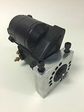 PONTIAC OLDSMOBILE HIGH TORQUE MINI STARTER 350,400,455 1.2KW PAINTED BLACK