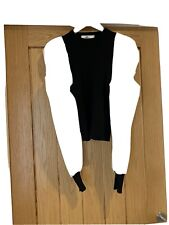Pixie Mai Boutique Black & White Puff Sleeve Top Size ONE
