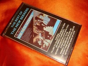 The Best of The New Seekers, original audio cassette, made in UK, nice used