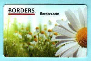 BORDERS Daisies 2011 Gift Card ( $0 )