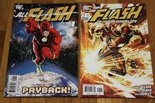 FLASH FASTEST MAN ALIVE 1 DC COMIC Lot 2006 - All Flash Payback 2007