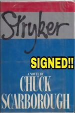 CHUCK SCARBOROUGH (NBC News) signed 1st edition book 1978 Hard Cover w/Dust Jkt
