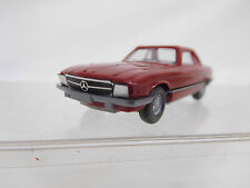 MES-51765Alter Wiking 1:87 Mercedes 350 SL Foliengrill weinrot