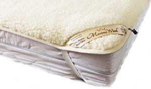 Merino Wool Unterbett Wolle Matratzenauflage Topper Schonbezug Matratzenschoner