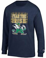 Notre Dame Fighting Irish Navy Champion Fear The Irish Long Sleeve T Shirt