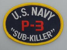 "U.S. Naval P-3 ""SUB-KILLER"" Patch"