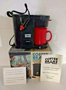 Vintage Decosonic Coffee Brake Travel Coffee Maker Car Charged Van life