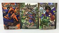 Culdsept By Shinya Kaneko Volumes 1 To 3 Lot Manga