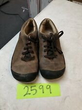 KEEN Womens Brown Lace Up Toe Cap Shoes Size 7.5
