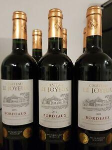 Top Rotwein Borie Manoux Chateau Le Joyeux Bordeaux 2015 Gold Medaille🥇 2016