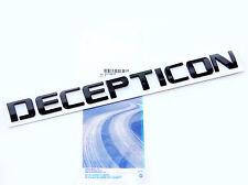 1x OEM Black DECEPTICON Nameplate Emblem Badge GMC Silverado Tahoe Ford dodge 1U