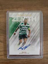 2018-19 Treble Zenith Signatures ZS-NA Nani #/25 Sporting CP